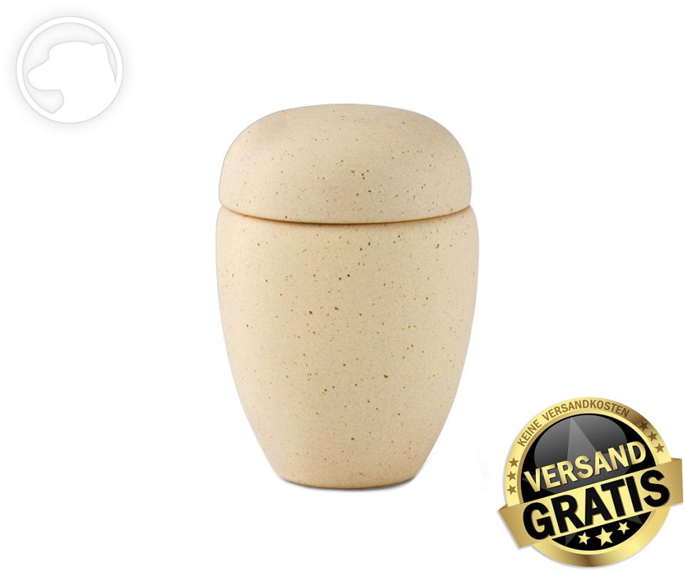 Tierurne Ceramica 0,5 Liter sand