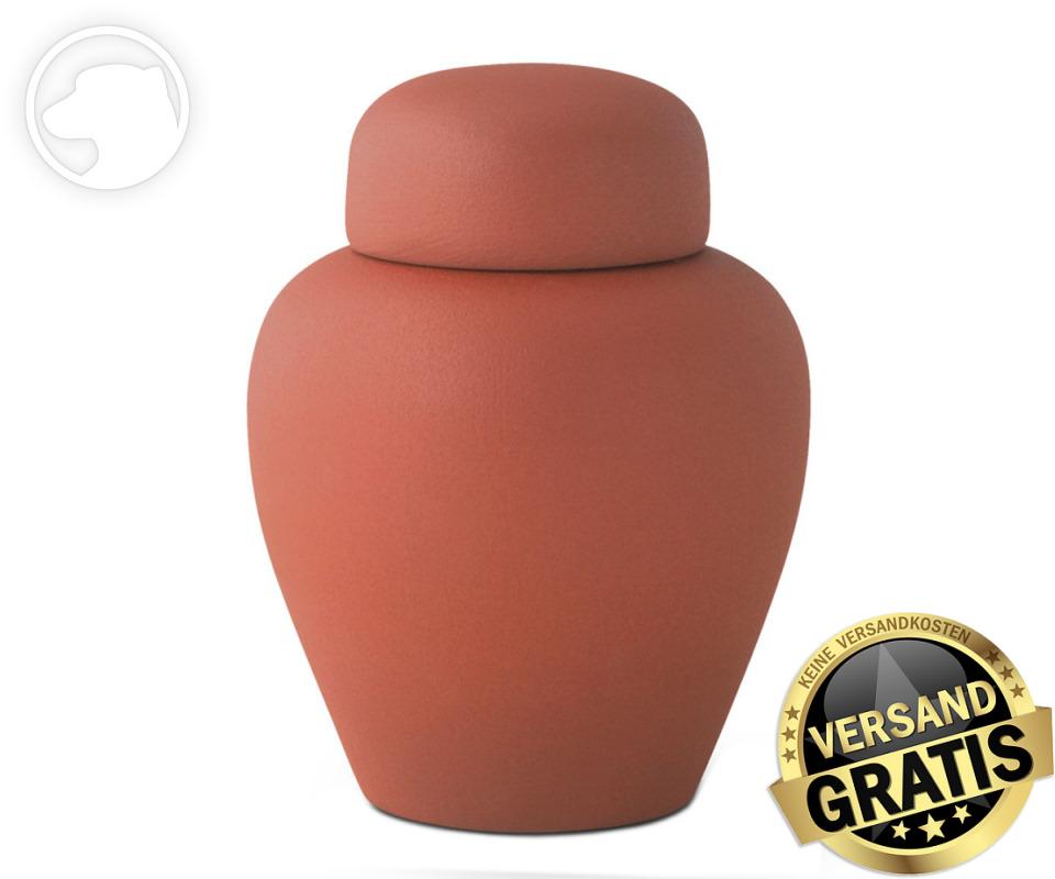 Tierurne Ceramica 1,0 Liter terrakotta
