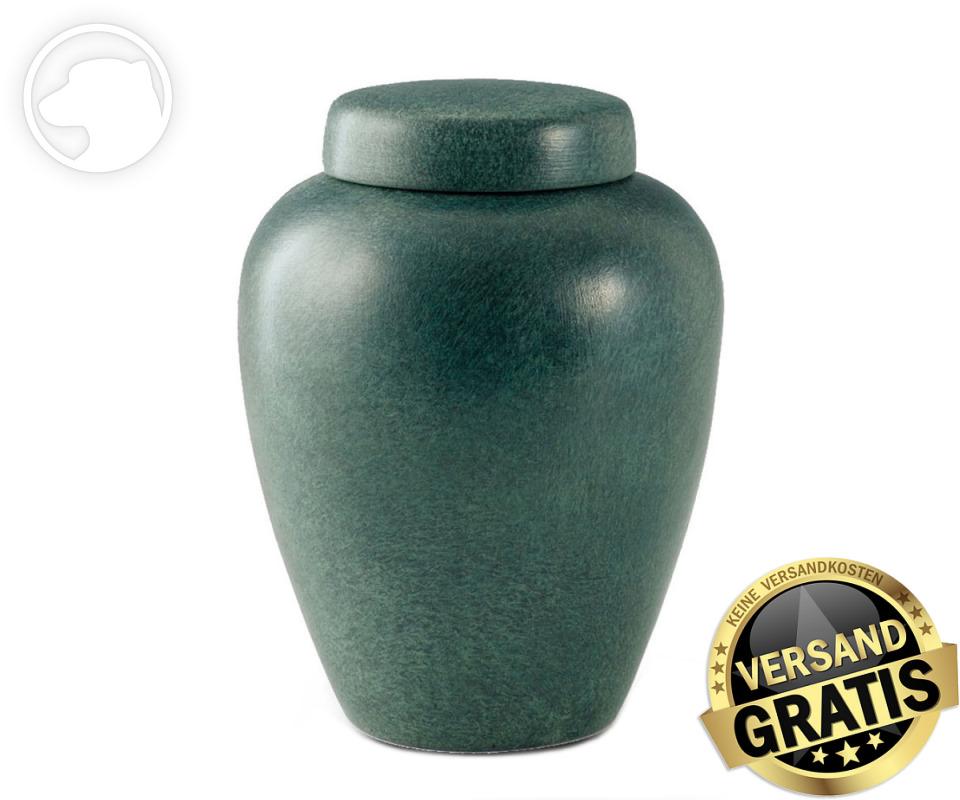 Tierurne Ceramica 2,8 Liter grün gesprenkelt