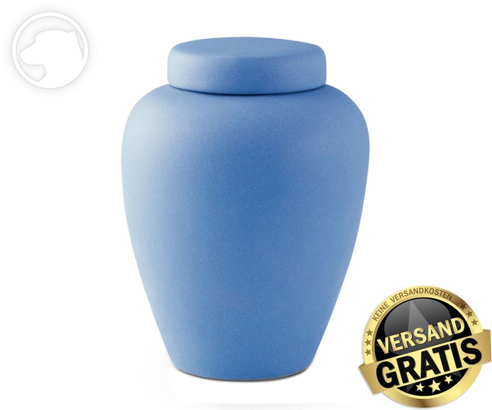 Tierurne Ceramica 2,8 Liter mittelblau