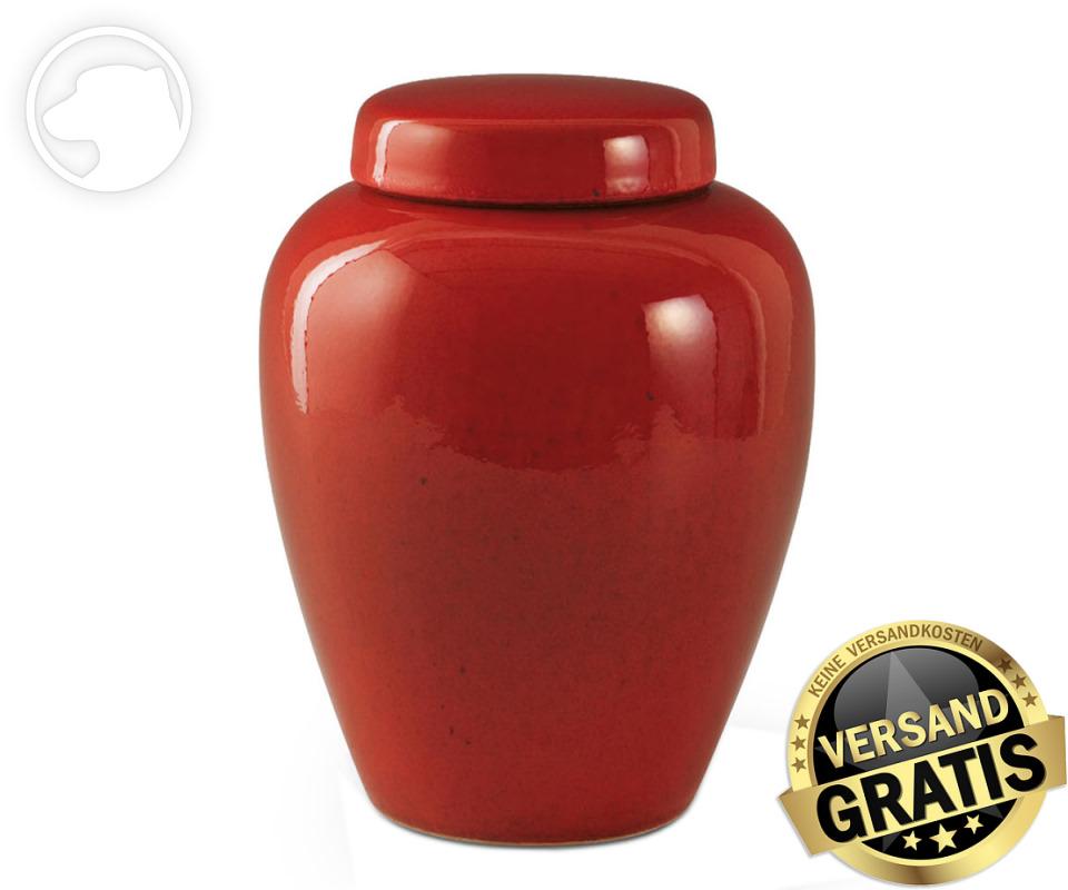 Tierurne Ceramica 2,8 Liter rot