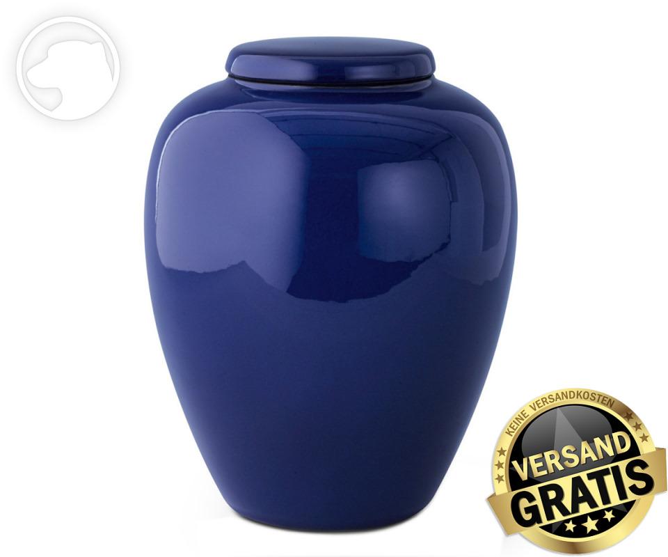Tierurne Ceramica 4,0 Liter kobalt-blau