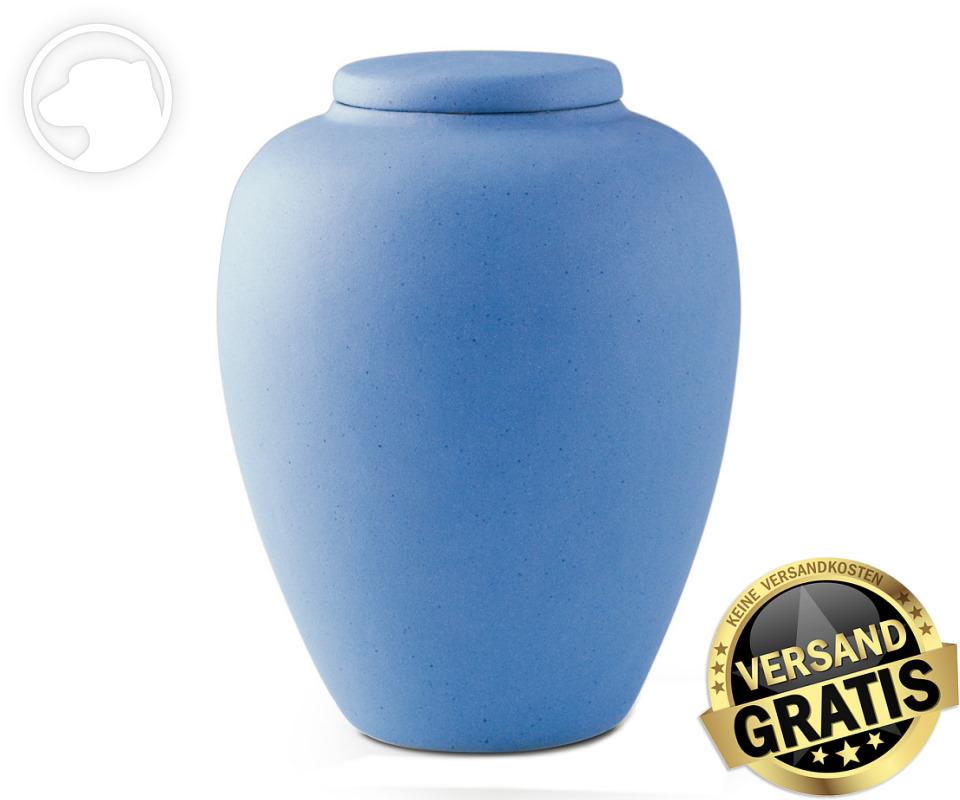 Tierurne Ceramica 4,0 Liter mittelblau