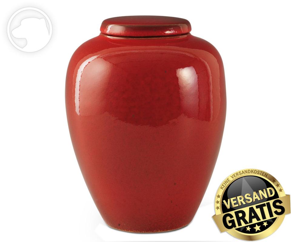 Tierurne Ceramica 4,0 Liter rot