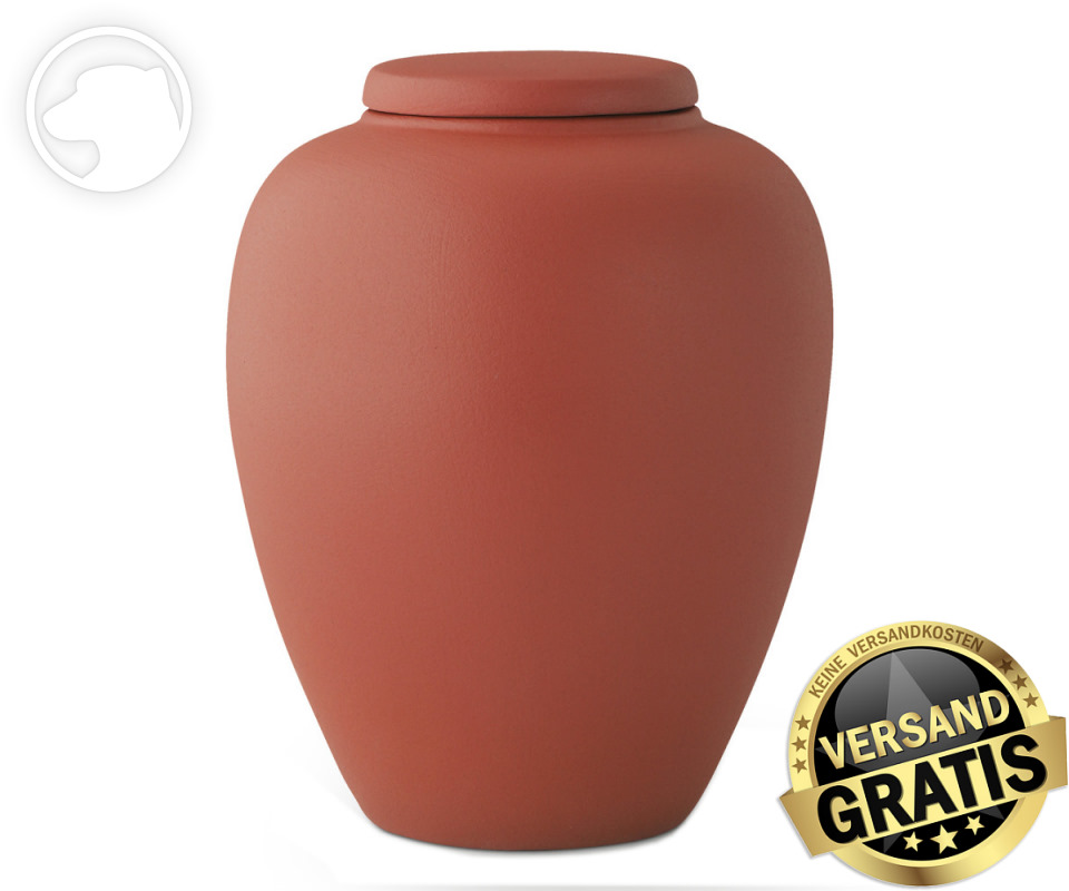 Tierurne Ceramica 4,0 Liter terrakotta